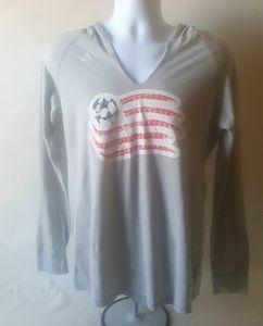 New England Revolution men's hoodie shirt size L
